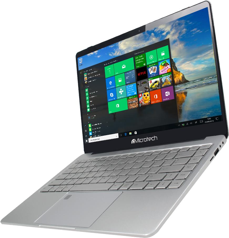 MICROTECH NB E-BOOK PRO N4000 4GB  32+60 GB SSD 14.1 WINDOWS 10 PRO