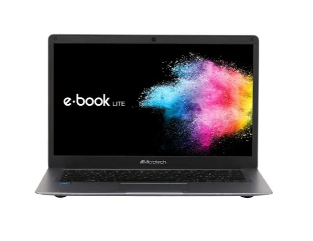 MICROTECH NB ULTRABOOK E-BOOK LITE N4000 4GB 64GB SSD 14,1 CHROME