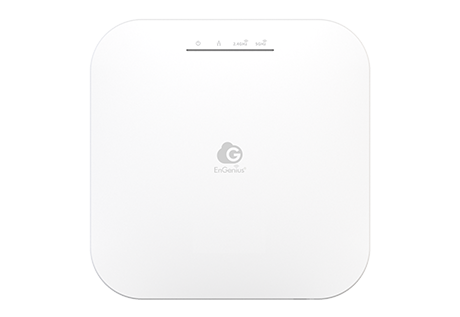 ENGENIUS ACCESS POINT CLOUD MANAGED INDOOR DUALBAND 11ax 574+1200Mbps 2T2R GbE PoE.af 3dBi ia
