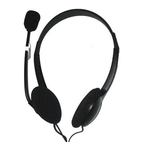 ENCORE CUFFIE CON MICROFONO USB 2.0, REGOLAZIONE DEL VOLUME, LUNGHEZZA CAVO 1.5M