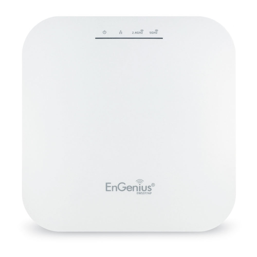 ENGENIUS ACCESS POINT MANAGED INDOOR DUAL BAND 11ax 1148+2400Mbps 4T4R 2.5GbE PoE.at(+) 8x3dBi ia