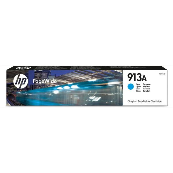 HP CART INK CIANO 913A 3.000 PAG PER PAGEWIDE PRO 477 377