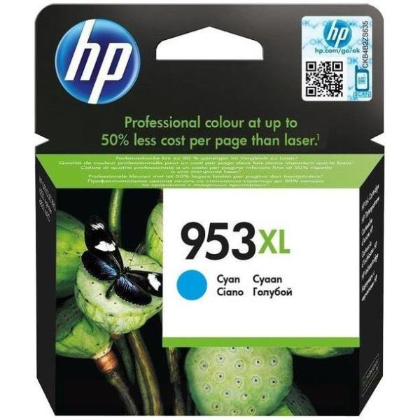 HP CART. INK CIANO 953XL PER OJ PRO 8210/8740/8730