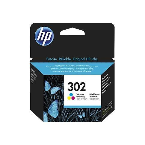 HP CART. INK MULTICOLOR N.302 PER DJ2130/1110 OJ3830/4650 ENVY4521