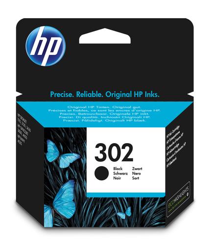HP CART. INK NERO N.302 PER DJ2130/1110 OJ3830/4650 ENVY4520