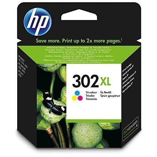 HP CART. INK MULTICOLOR XL N.302 PER DJ2130/1110 OJ3830/4650
