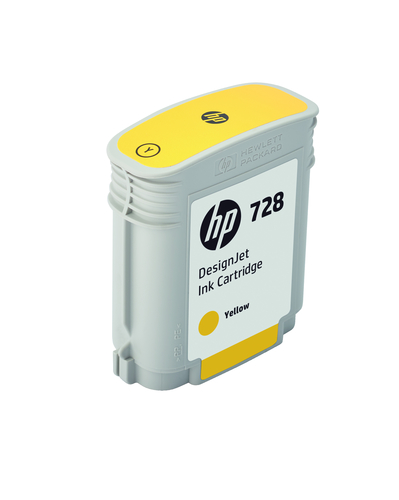 HP CART. INK 728 GIALLO