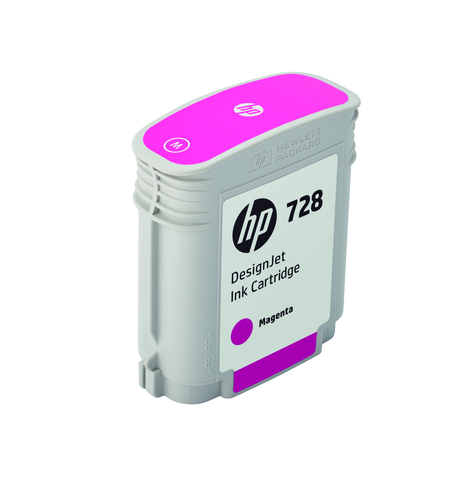 HP CART. INK 728 MAGENTA