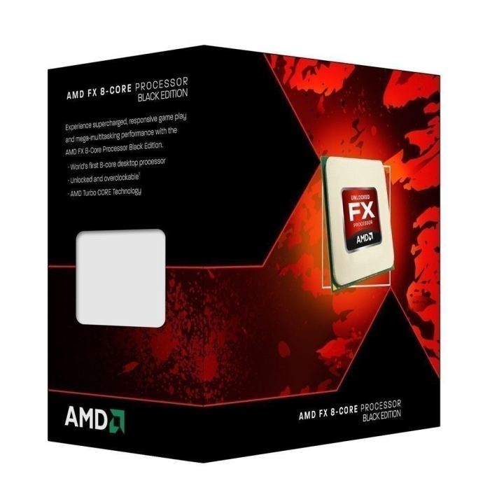 Amd cpu fx-8350, 4,00ghz, am3+, 16mb cache, 125w, box