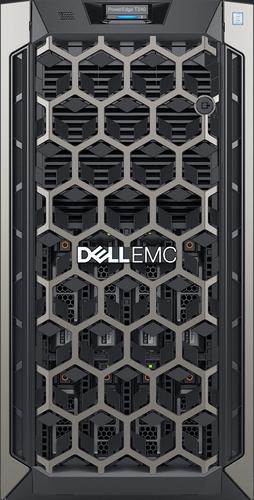 DELL TECHNOLOGIES IT/BTP/PE T340/CHASSIS 8 X 3.5 HOTPLUG/XEON E-2124/8GB/1X1TB/NO RAILS/BEZEL/DVD RW/ON-BOARD LOM DP/PERC H330/IDRAC9 EXP/