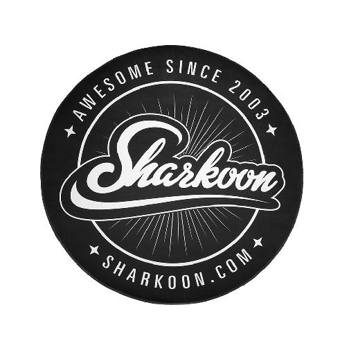 SHARKOON TAPPETO PER SEDIA GAMING FLOOR MAT, DIAMETRO 120 CM, SPESSORE 5 MM, BASE ANTISCIVOLO, POLI