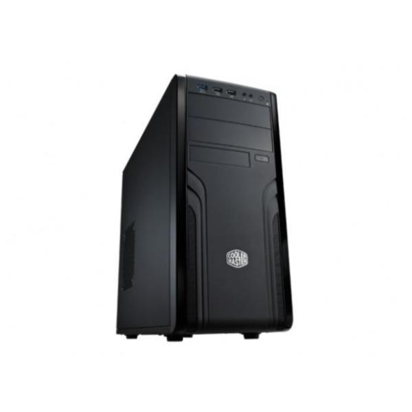COOLER MASTER CASE FORCE 500, 1 X USB3 + 2 X USB2 + ONE 12 CM STANDARD FAN + 2XODD + 8XHDD