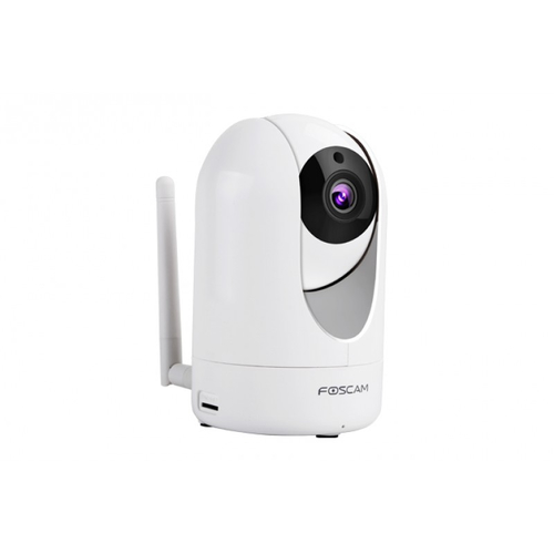 FOSCAM IP CAMERA WIRELESS 2560P PTZ 115 WDR NIGHT VISION MICRO SD CARD 2 WAY AUDIO WHITE
