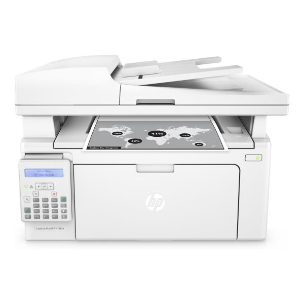 HP MULTIF. LASER M130FN B/N A4 22PPM USB/ETHERNET STAMPANTE SCANNER COPIATRICE FAX