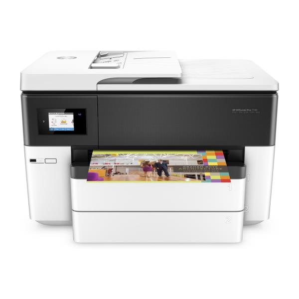 HP MULTIF. INK OJ PRO 7740 A3 18PPM 4800X1200DPI USB/WIRELESS STAMPANTE SCANNER COPIATRICE FAX - GAR. 3 ANNI REGISTRANDO PRODOTTO