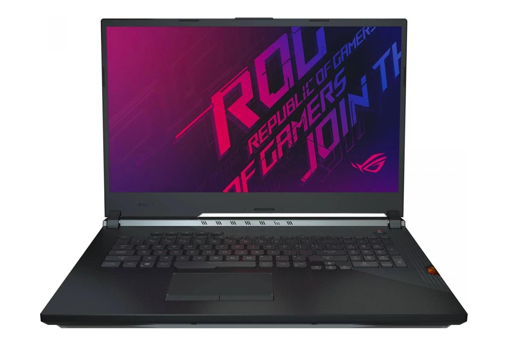 ASUS NB ROG STRIX SCAR III G731GU I7-9750 16GB 1TB SSD + 512GB SSD 17 GTX 1660 TI 6GB WIN 10 HOME