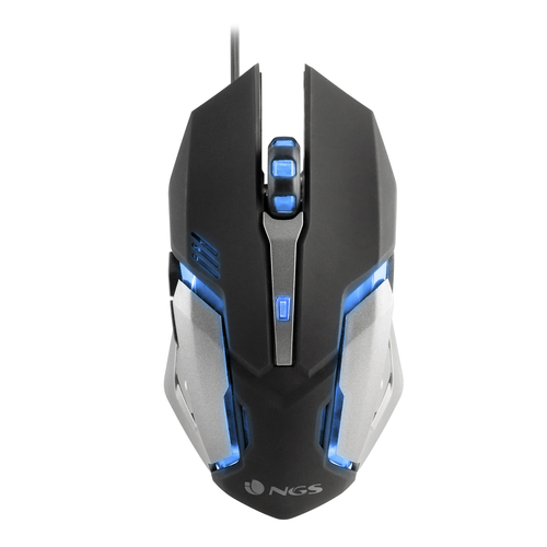 NGS MOUSE GAMING CON LUCI A LED 2200 DPI
