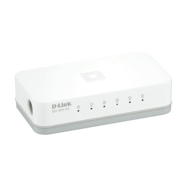 D-LINK SWITCH 5 PORTE 10/100 DESKTOP