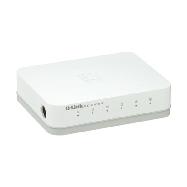D-LINK SWITCH 5 PORTE GIGABIT EASY DESKTOP