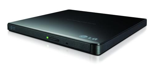 LG MASTERIZZATORE ESTERNO DVD ULTRASLIM PORTABLE USB 8XDVDR WRITE 24X CD WRITE BLACK