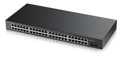 ZYXEL SWITCH MANAGED 48 PORTE GIGABIT+2 SFP, IPV6, VLAN, RACK