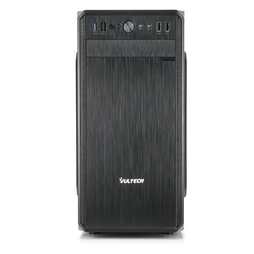 VULTECH CASE MICRO ATX GS-2688N CON ALIMENTATORE 500W PORTA USB 3.0 E SD CARD NERO