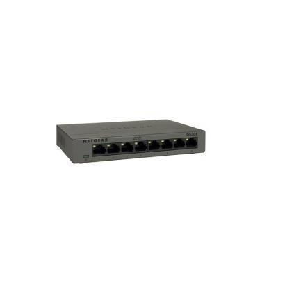 NETGEAR SWITCH 8 PORTE GIGABIT CASE METALLICO