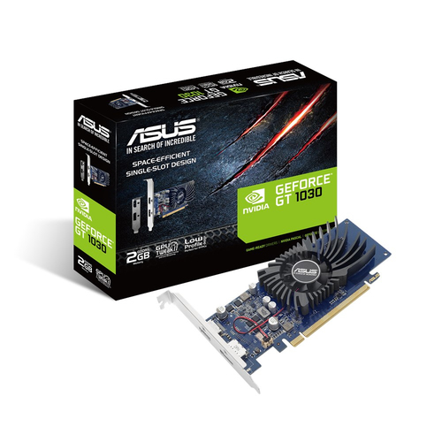 ASUS VGA GT1030-2G-BRK 2GB GDDR5 HDMI/DP FAN