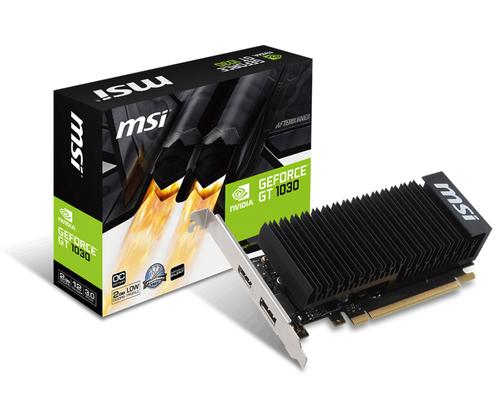 MSI VGA GT 1030 2GH LP OC GDDR5 (256Mx32bit)