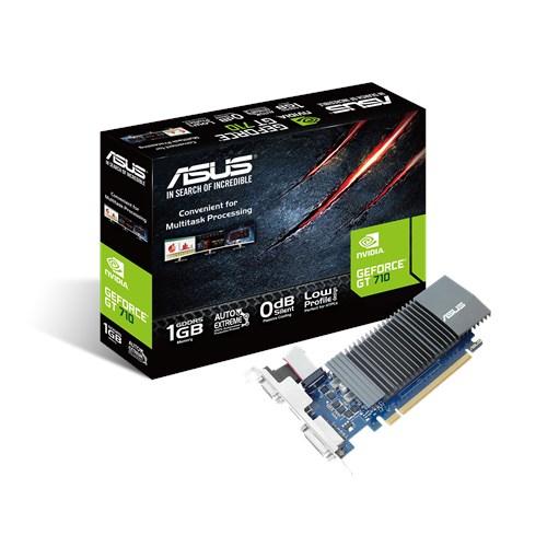 ASUS VGA NVIDIA GT710 1GB GDDR5 VGA DVI HDMI LOW PROFILE