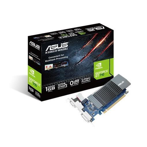 ASUS VGA GT 710 1GB GDDR5 VGA DVI HDMI LOW PROFILE