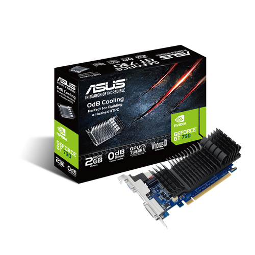 ASUS VGA GT730 2GB GDDR5 VGA DVI HDMI LOW PROFILE