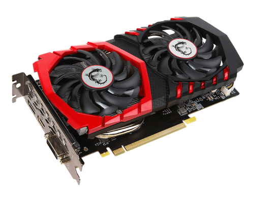 MSI VGA GEFORCE GTX 1050 GAMING X 2G GDDR5 DL-DVI HDMI DP ATX  RENEWED BULK NO MASCHERINA/CAVI