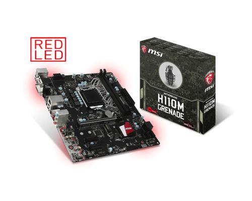MSI MB H110M GRENADE LGA 1151 2*DDR4 OCI-E 4*SATA3 4*USB3.1 ARSENAL GAMING