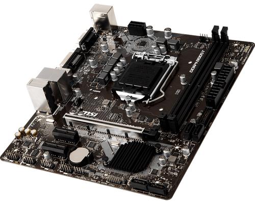 MSI MB H310M PRO-VD MATX LGA1151 8TH GEN DDR4 PCI-EX1/16 SATA3 USB3.0 VGA DVI PRO SERIES