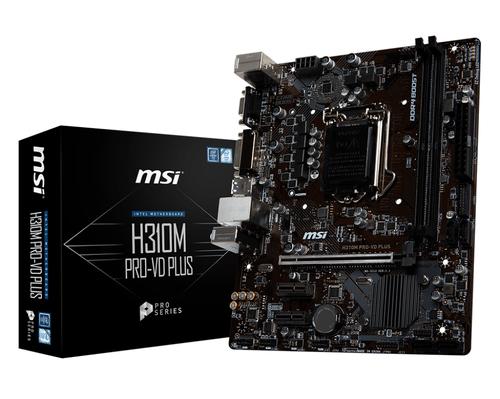 MSI MB H310M PRO-VD PLUS MATX LGA 1151 8TH GEN  DDR4
