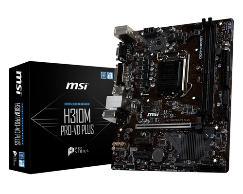 MSI MB H310M PRO-VD PLUS MATX LGA 1151 8TH GEN  DDR4