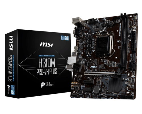 MSI MB H310M PRO-VH PLUS MATX LGA 1151 8TH GEN DDR4