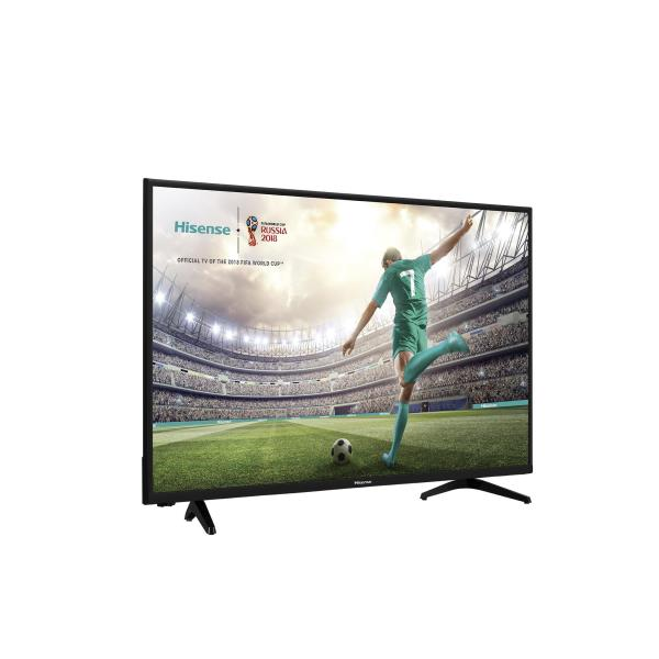 HISENSE 32POL HD READY SMART TV VIDAA-U  2HDMI 2USB 1OPTICAL OUTPUT 1COMPOSITETUNER SAT ACCESSO DIRETTO A YOUTUBE E NETFLIX CORNICE E SCOCCA NERO