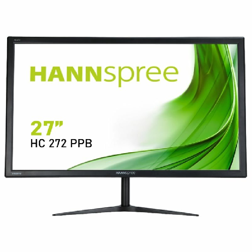HANNSPREE MONITOR 27 LED  16:9 2K WQHD 5MS 300 CDM, VGA/HDMI/DP, MULTIMEDIALE