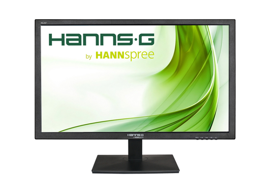 HANNSPREE MONITOR 23.6 WIDE FHD 1920X1080 16:9 250CD/M 170_/160_ VGA HDMI DVI 1000:1 / 10M:1 SPEAKERS INTEGRATI 5MS VESA