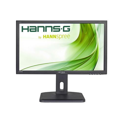 HANNSPREE MONITOR 23,6 FHD 1920X1080, 16:9, 250CD/M, VGA, DVI, HDMI, MULTIMEDIALE, 5MS, ALTEZZA REGOLABILE, PIVOT