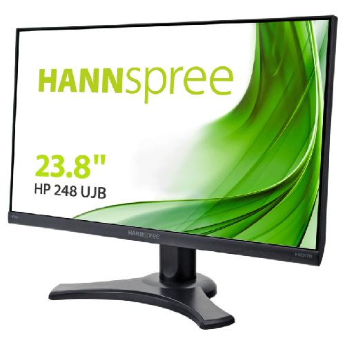 HANNSPREE MONITOR 23,8 LED 16:9 FHD 4MS 300 CDM, VGA/HDMI/DP, PIVOT, MULTIMEDIALE