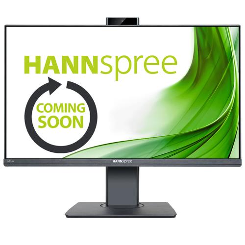 HANNSPREE MONITOR 23,8 LED 16:9 FHD 5MS 300 CD/M VGA/HDMI/DP, ALTEZZA REGOLABILE, PIVOT, WEBCAM, MULTIMEDIALE