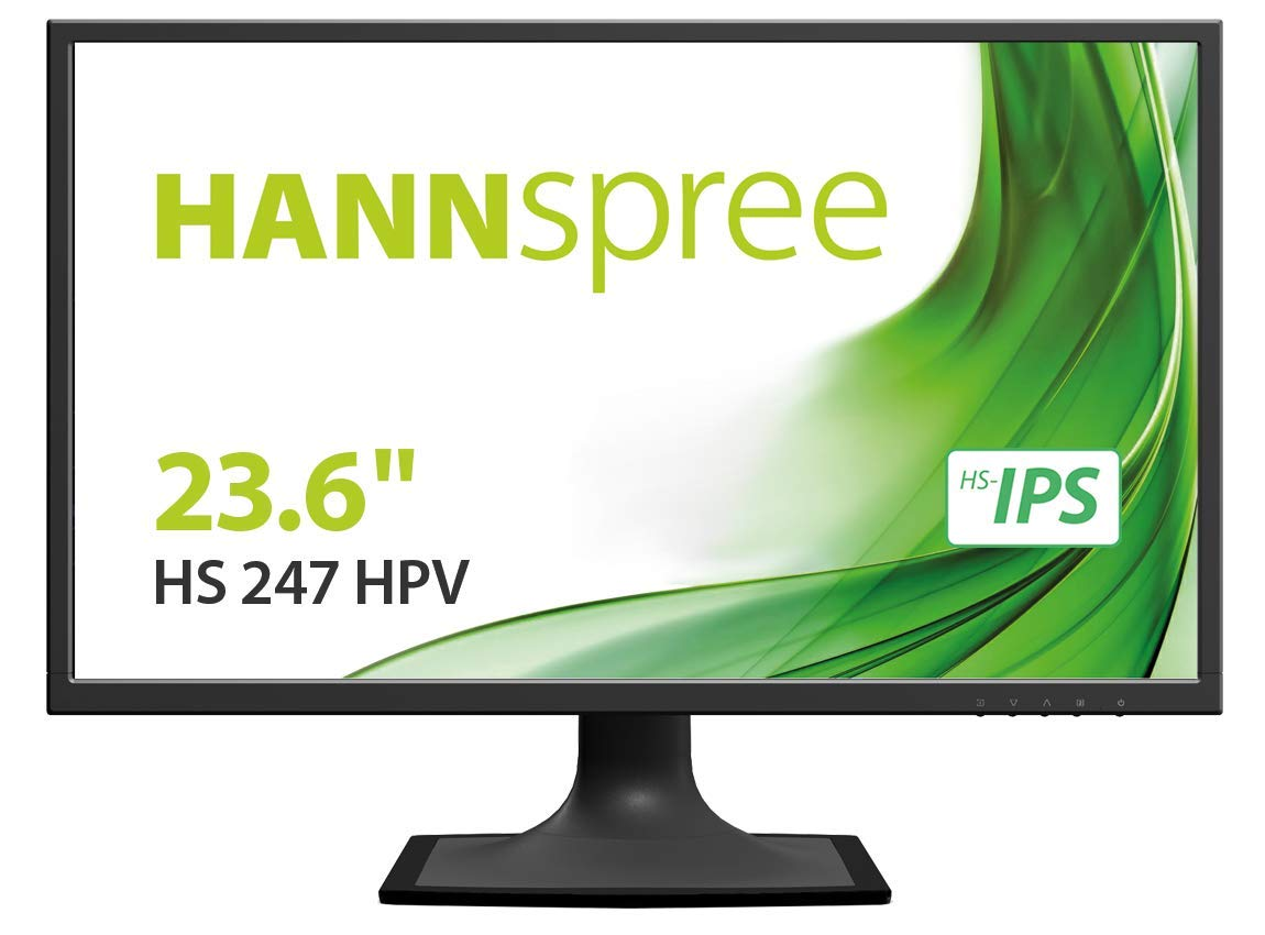 HANNSG MONITOR 23,6 TFT LED FHD 250CD/M 178 HDMI DVI VGA MULTIMEDIALE VESA, HS247