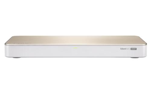 QNAP 4-DRIVE FANLESS NAS, INTEL CELERON J4105 4-CORE 1.5GHZ (UP TO 2.5GHZ),4GB DDR4 RAM (2 X 2GB), 2 X 2.5
