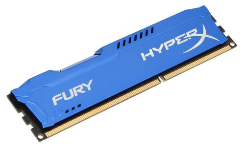 KINGSTON RAM FURY DIMM 4GB DDR3 1600MHZ CL10 NON ECC