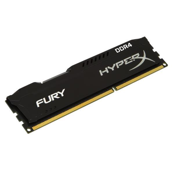 KINGSTON RAM HYPERX FURY DIMM 8GB DDR4 2400MHZ CL15 BLACK