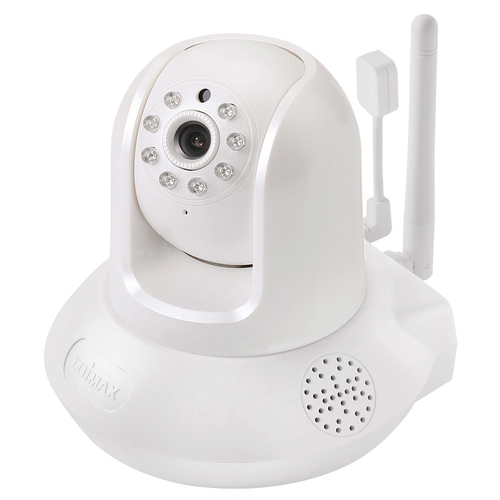 EDIMAX IP CAMERA SMART HD WI-FI PAN/TILT NETWORK CAMERA WITH TEMPERATURE AND HUMIDITY SENSOR DAYNIGHT