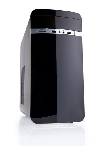 ITEK CASE OTTO ADVANCED MINI TOWER MATX, USB2, NO PSU, CARD READER - NEW CONCEPT DESIGN